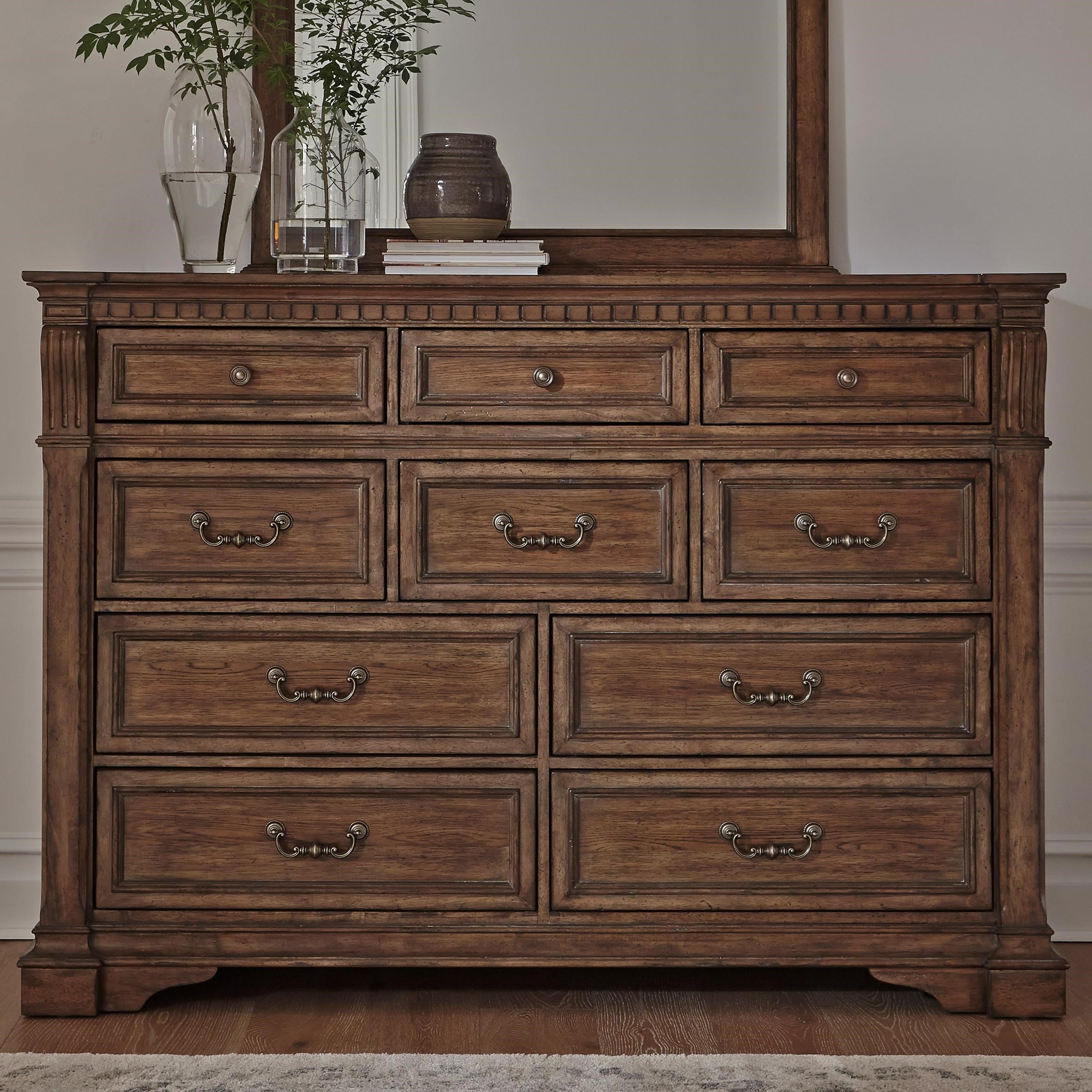 Haven Hall 10-Drawer Dresser by Liberty Furniture at Northeast Factory Direct