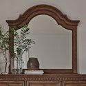 Liberty Furniture Haven Hall Arched Mirror - Item Number: 685-BR51