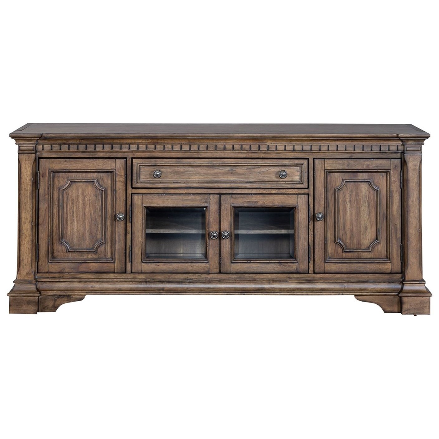 Haven Hall 71 Inch TV Stand by Liberty Furniture at Northeast Factory Direct