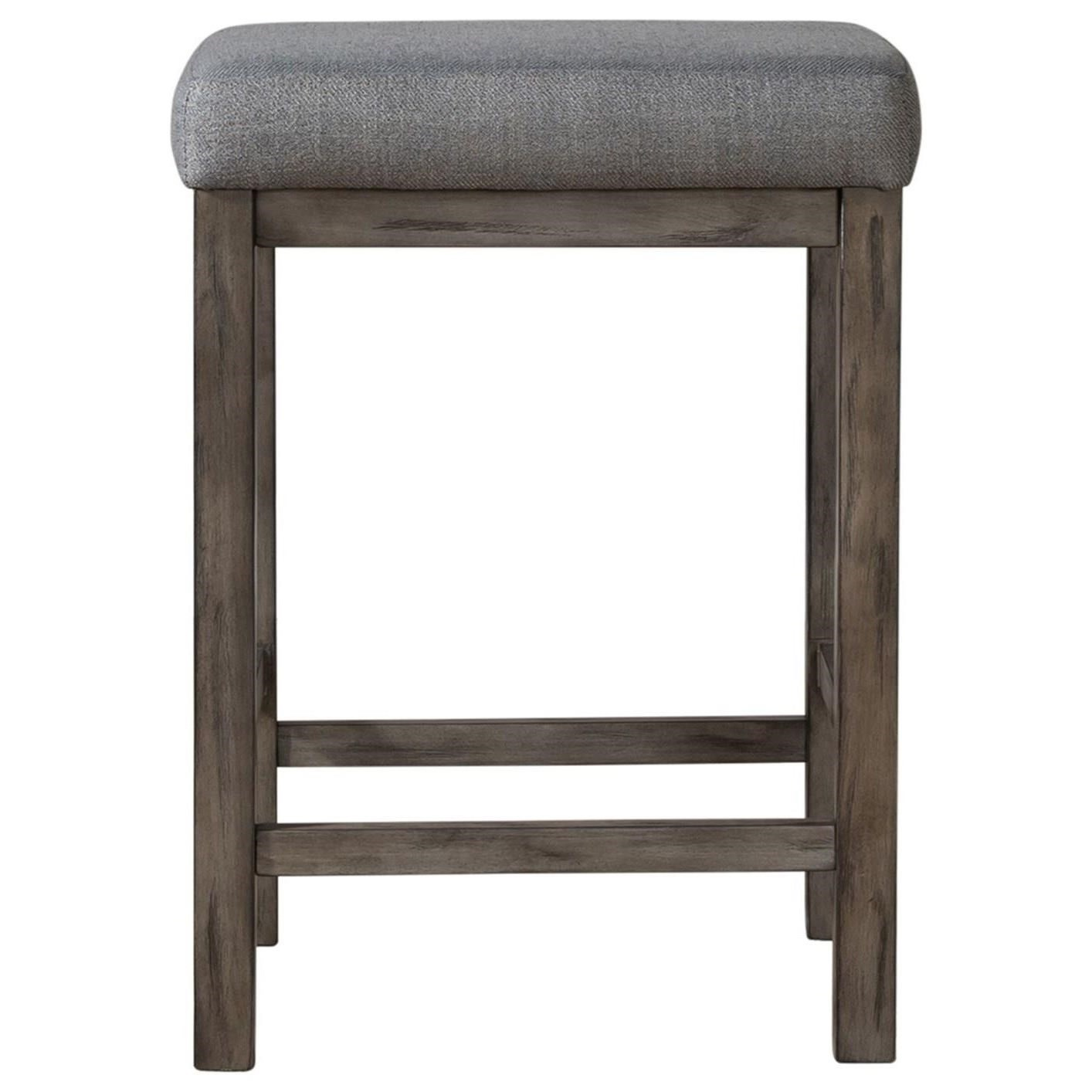 Hayden Way Upholstered Console Stool by Libby at Walker's Furniture