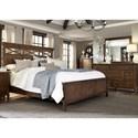 Liberty Furniture Hearthstone King Panel Bedroom Group - Item Number: 382-BR-KPBDM