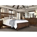 Liberty Furniture Hearthstone King Panel Bedroom Group - Item Number: 382-BR-KPBDMC
