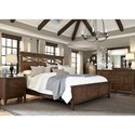 Sarah Randolph Designs Hearthstone King Panel Bedroom Group - Item Number: 382-BR-KPBDMCN