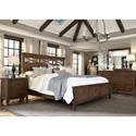Liberty Furniture Hearthstone King Panel Bedroom Group - Item Number: 382-BR-KPBDMN