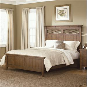 Vendor 5349 Hearthstone Queen Panel Bed