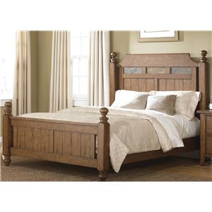 Vendor 5349 Hearthstone Queen Poster Bed