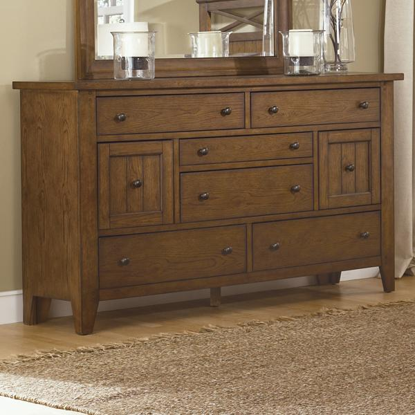 Liberty Furniture Hearthstone 8-Drawer Dresser - Item Number: 382-BR31