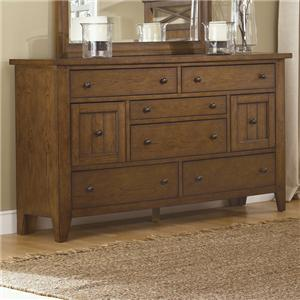 Vendor 5349 Hearthstone 8-Drawer Dresser