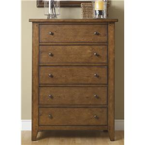 Vendor 5349 Hearthstone 5 Drawer Chest