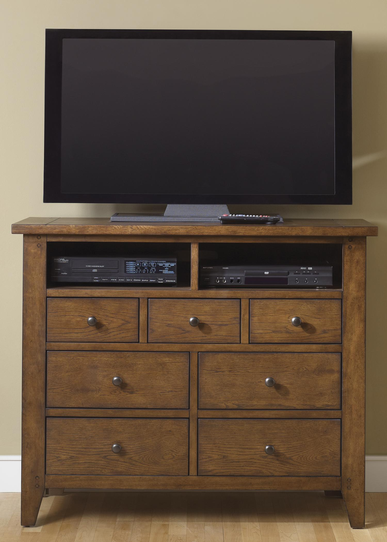 Liberty Furniture Bunker Hill Media Chest - Item Number: 382-BR45