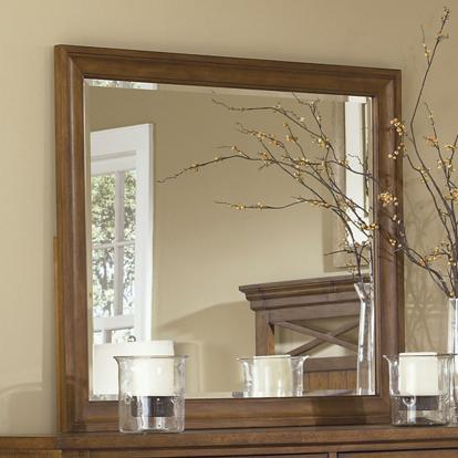 Liberty Furniture Hearthstone Dresser Mirror - Item Number: 382-BR51