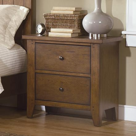 Liberty Furniture Hearthstone Nightstand - Item Number: 382-BR61