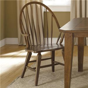 Vendor 5349 Hearthstone Windsor Back Arm Chair
