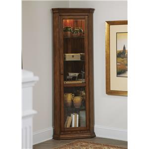 Liberty Furniture Hearthstone Corner Curio