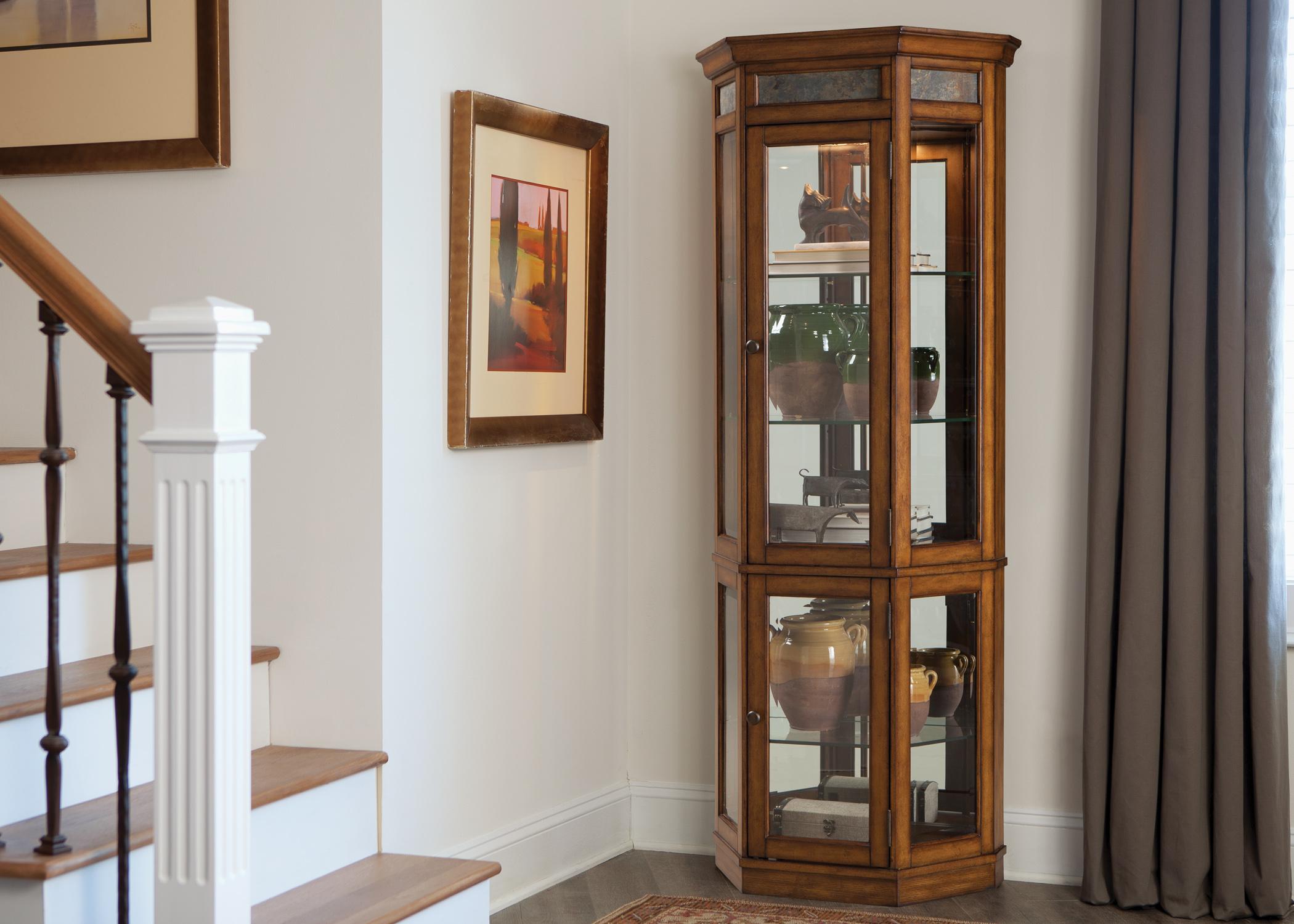 Liberty Furniture Hearthstone 5 Side Curio - Item Number: 382-CU2872