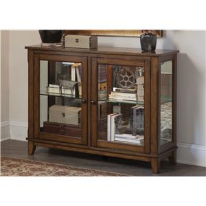 Liberty Furniture Hearthstone Console Curio