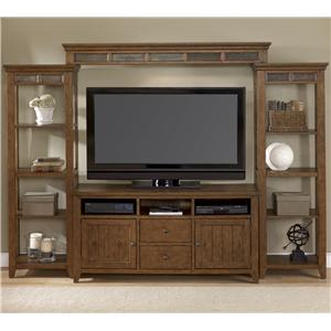 Vendor 5349 Hearthstone Entertainment Center with Piers