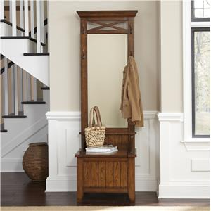 Liberty Furniture Hearthstone Hall Tree with Bench