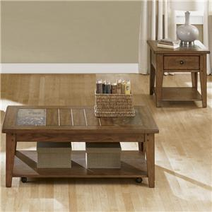Liberty Furniture Hearthstone 3 Piece Occasional Table Set