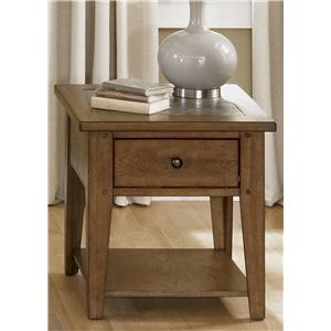 Liberty Furniture Hearthstone End Table
