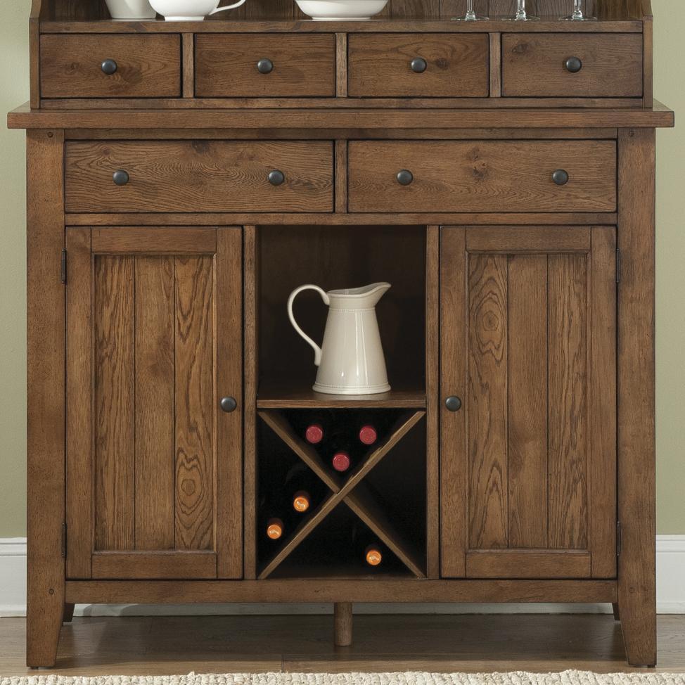 Liberty Furniture Bunker Hill Server - Item Number: 382-SR5074