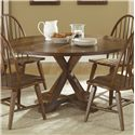 Liberty Furniture Hearthstone Drop-Leaf Pedestal Table - Item Number: 382-T6060+P6060