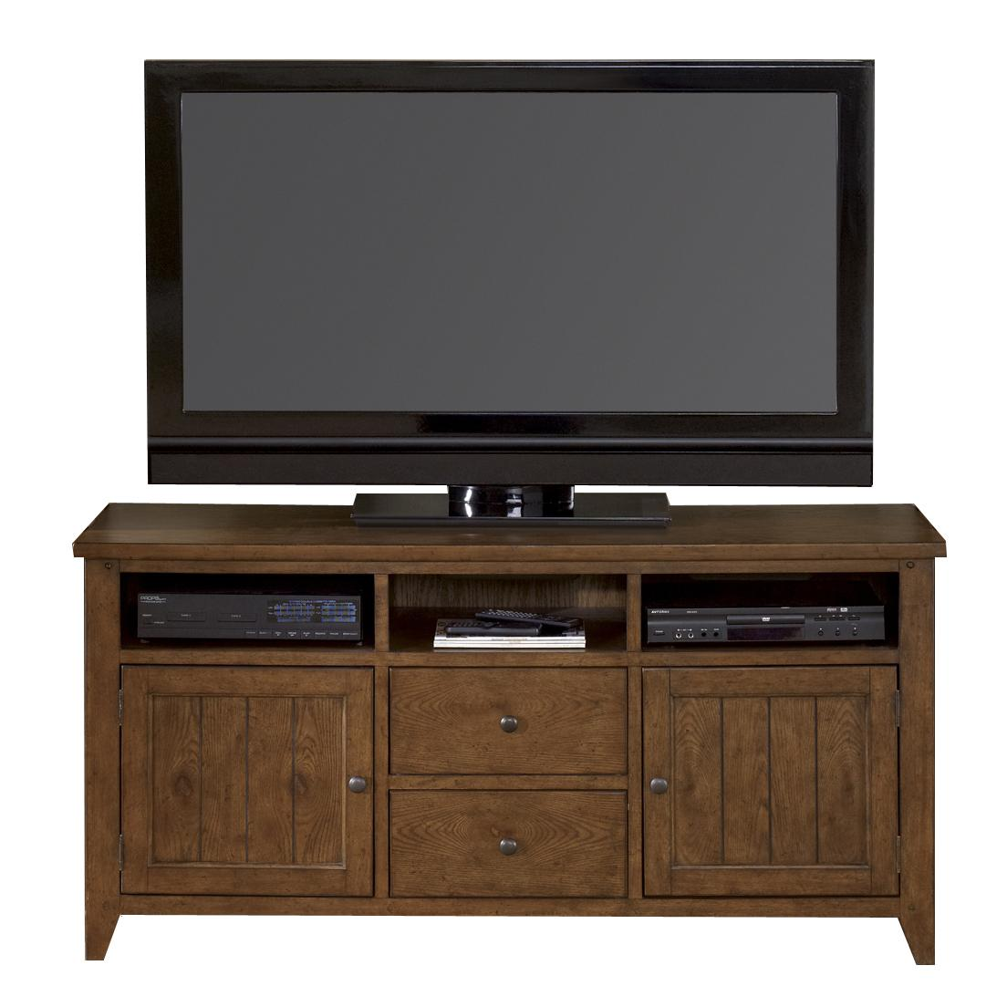Liberty Furniture Hearthstone Entertainment TV Stand - Item Number: 382-TV62
