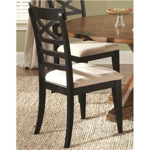 Liberty Furniture Hearthstone X Back Side Chair