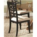 Liberty Furniture Hearthstone X Back Side Chair - Item Number: 482-C3001S