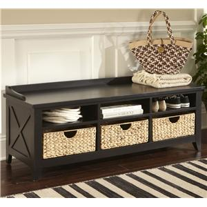 Liberty Furniture Hearthstone Cubby Storage Bench