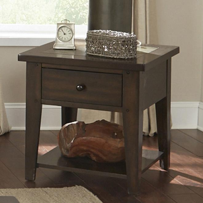 Liberty Furniture Hearthstone End Table - Item Number: 682-OT1020