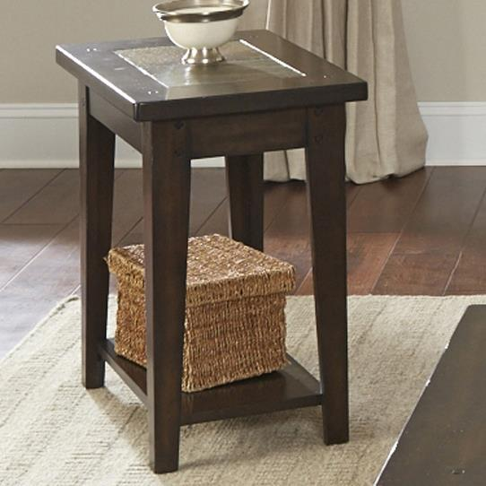 Liberty Furniture Hearthstone Chairside Table - Item Number: 682-OT1021