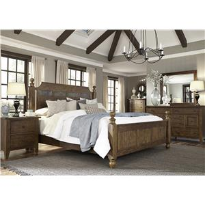 Liberty Furniture Hearthstone Queen Bedroom Group