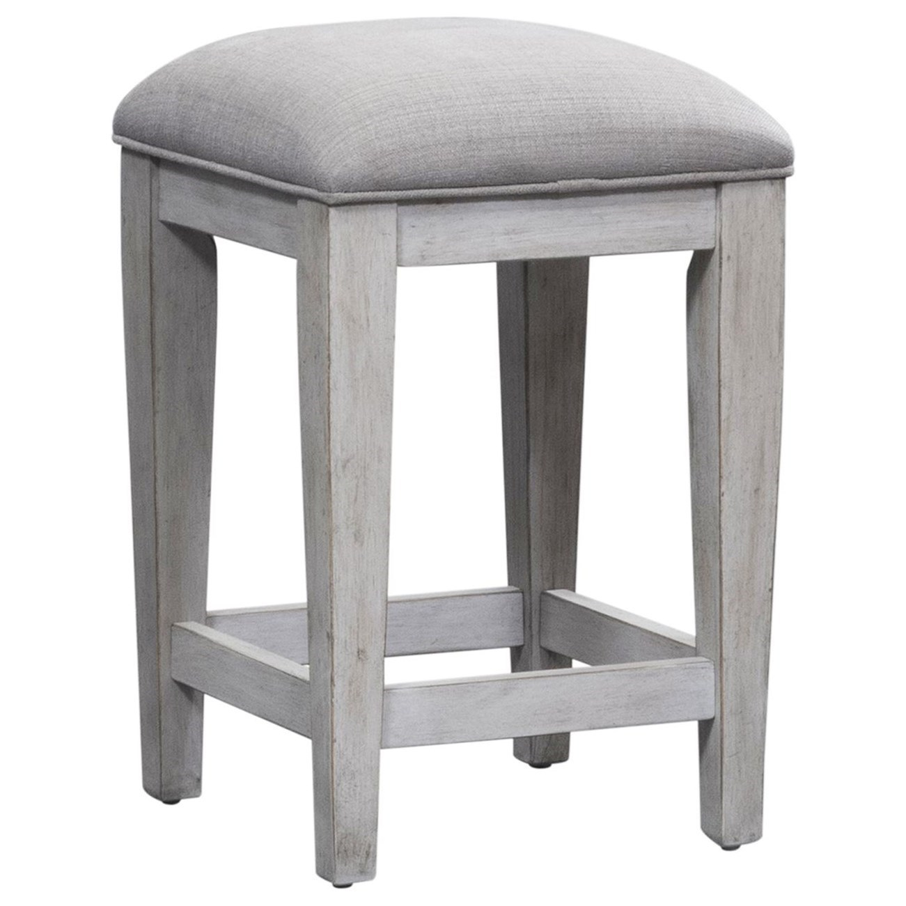 Haven Upholstered Counter Height Stool by Libby at Walker's Furniture