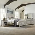 Liberty Furniture Heartland King Bedroom Group - Item Number: 824-BR-KPBDMN