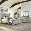 Liberty Furniture Heartland Queen Bedroom Group - Item Number: 824-BR-OQPBDMC