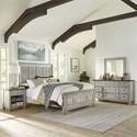 Liberty Furniture Heartland King Bedroom Group - Item Number: 824-BR-OKPBDMN