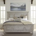 Liberty Furniture Heartland King Panel Bed - Item Number: 824-BR-KPB