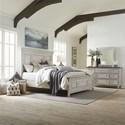 Liberty Furniture Heartland Queen Bedroom Group - Item Number: 824-BR-QPBDM