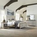 Liberty Furniture Heartland Queen Bedroom Group - Item Number: 824-BR-QPBDMCN