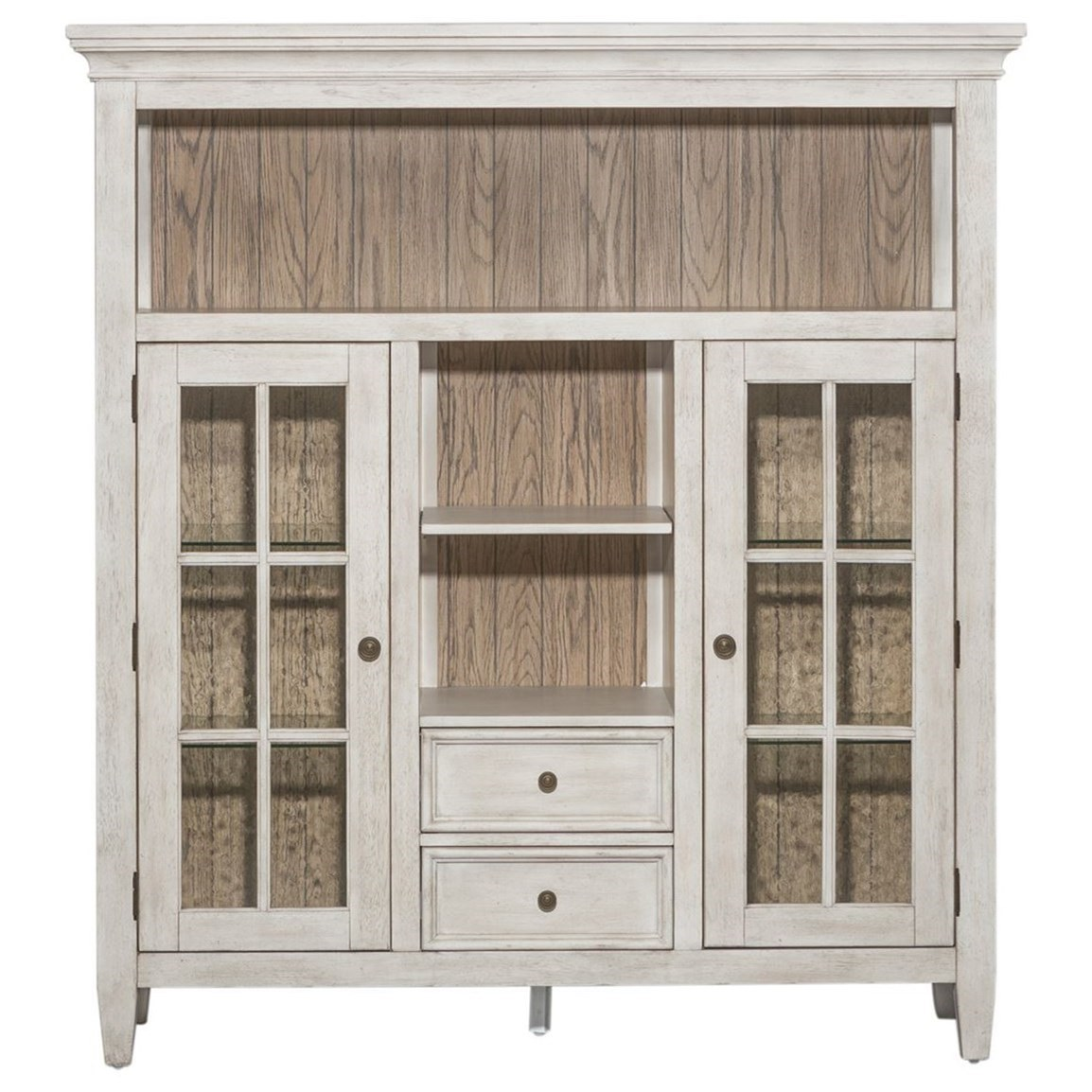 Heartland Display Cabinet by Liberty Furniture at Northeast Factory Direct