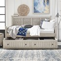 Liberty Furniture Heartland Twin Trundle Bed - Item Number: 824-DAY-TTR