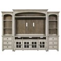 Liberty Furniture Heartland Entertainment Center with Piers - Item Number: 824-ENTW-ECP