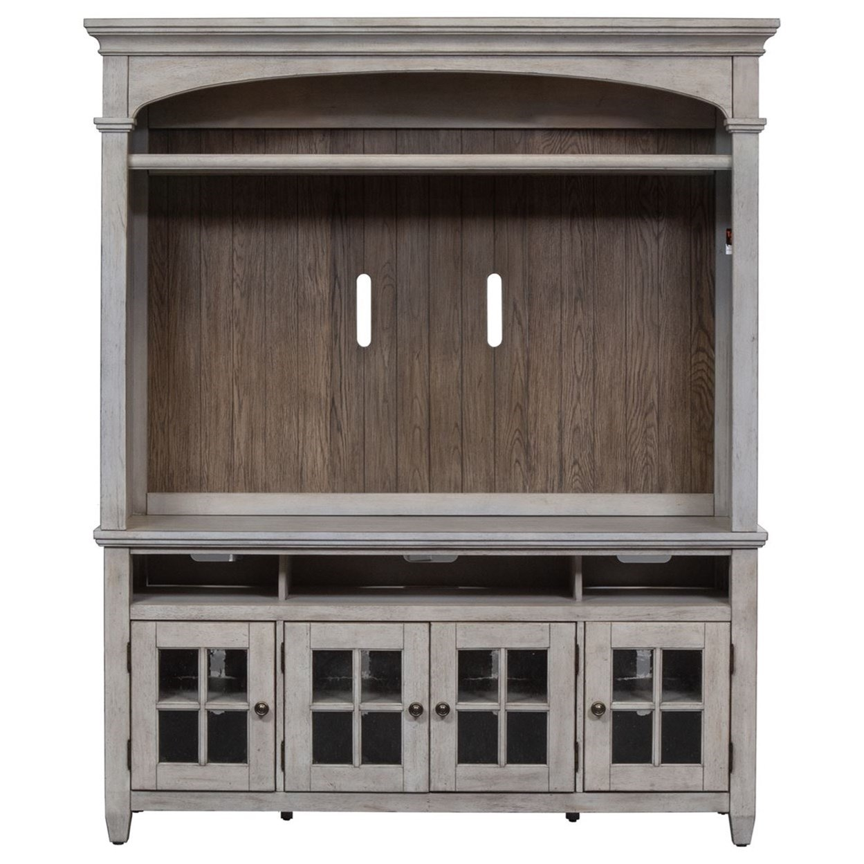 Haven Entertainment Center by Libby at Walker's Furniture