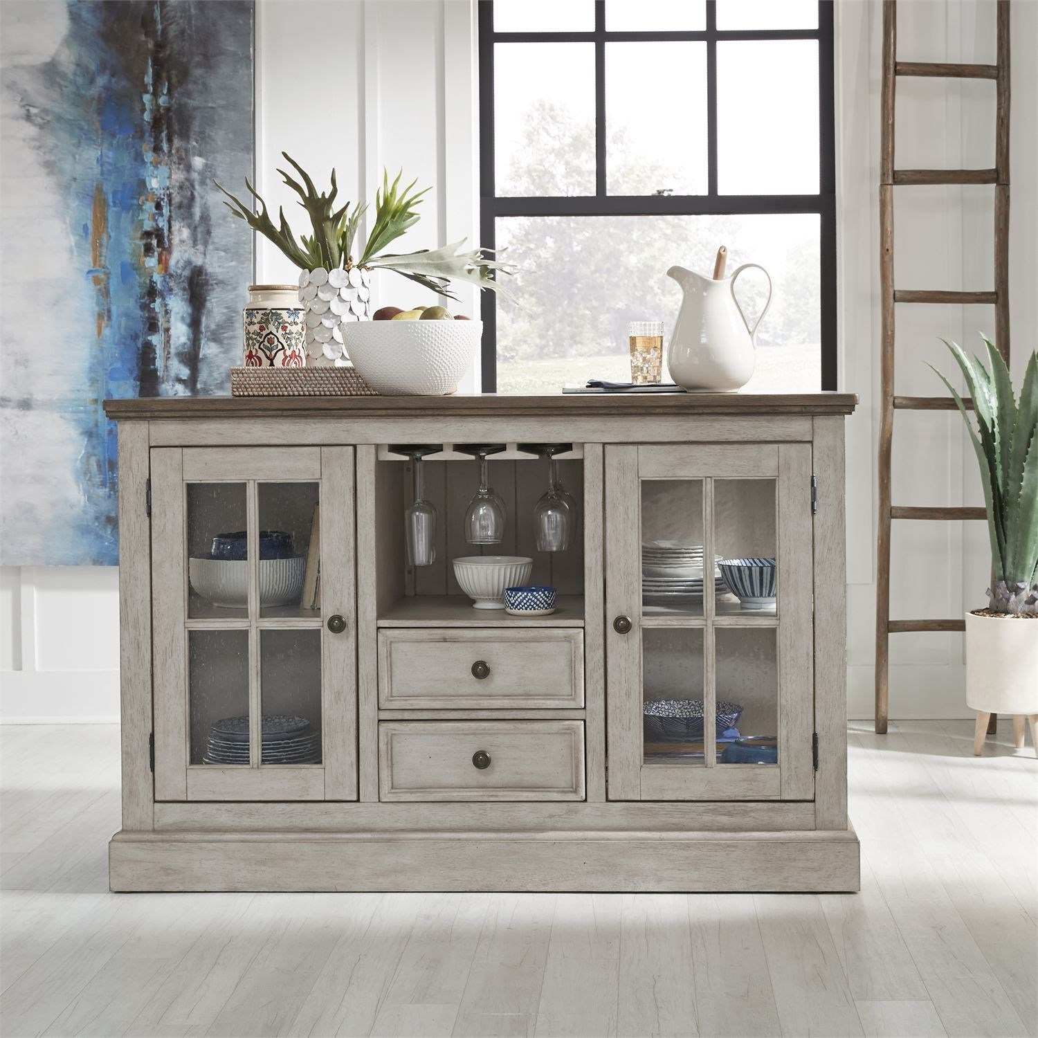 Haven Kitchen Island by Libby at Walker's Furniture