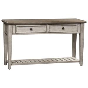 2 Drawer Sofa Table