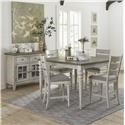 Liberty Furniture Heartland Gathering Height Table & 6 Chair Set - Item Number: GRP-824-PUBTBL6