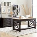 Liberty Furniture Heatherbrook 2-Piece Desk Set  - Item Number: 422-HO-2DS