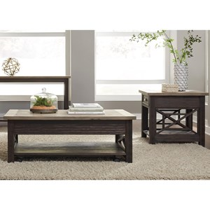 Liberty Furniture Heatherbrook Occasional 3 Piece Occasional Group