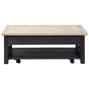 Liberty Furniture Heatherbrook Occasional Lift Top Cocktail Table